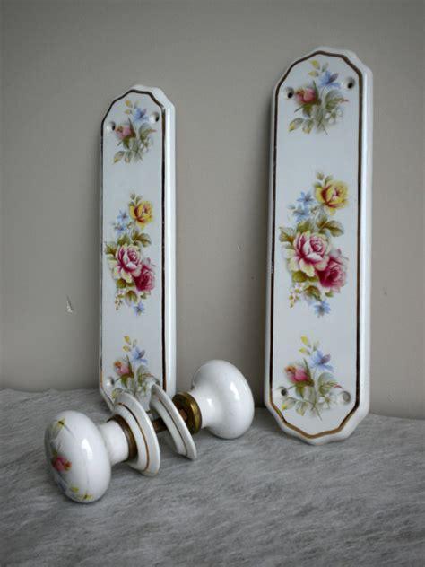 shabby chic door knobs shabby chic door knobs vintage porcelain door by ascuriosities
