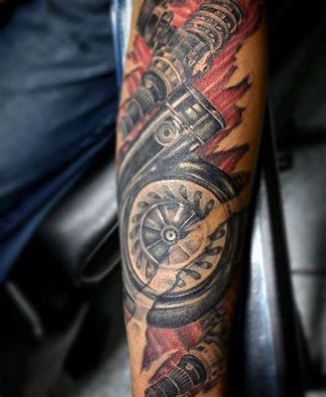 mechanic tattoo designs 70 car tattoos for cool automotive design ideas