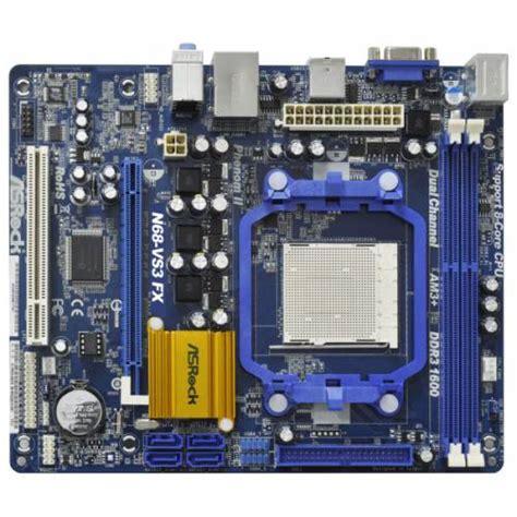 asrock n68 vs3 fx ddr3 socket am3 matx motherboard n68 vs3 fx from overclock co uk