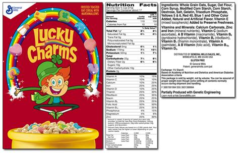 lucky charms product list