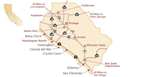 parks in orange county california state parks on the guide to california state beaches