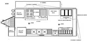 truck cer floor plans pictures of food truck floor plan popular on food truck