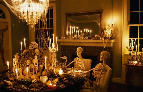 ideas for a dinner party at home decorations for a halloween party
