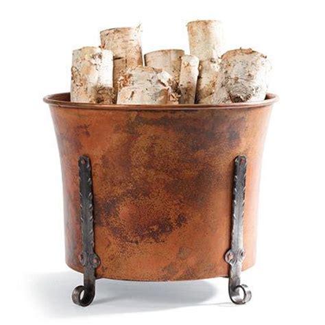 Decorative Fireplace Log Holder by Best 25 Indoor Firewood Storage Ideas On