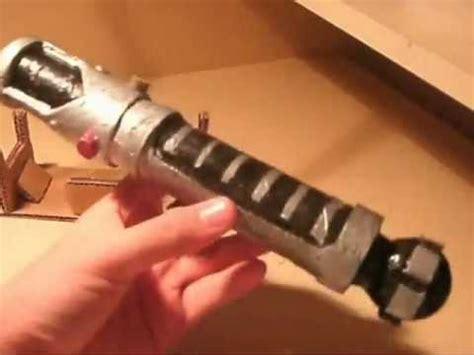 How To Make A Paper Wars Lightsaber - cardboard lightsaber 2 obi wan kenibi ep1 2
