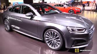 2017 audi a5 sportback exterior and interior walkaround