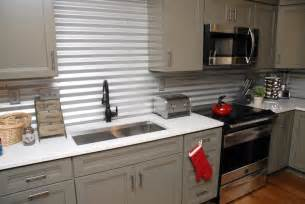 cheap backsplash ideas for the kitchen inspired whims creative and inexpensive backsplash ideas