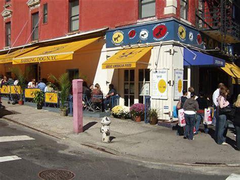 dog friendly restaurants  nyc  bring  pet