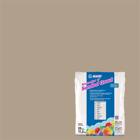 shop mapei 25 lbs navajo brown sanded powder grout at