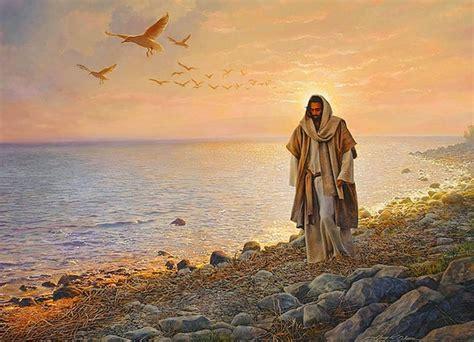 imagenes de jesus hablando al pueblo jesus caminando por la playa 1 pasionistas en la