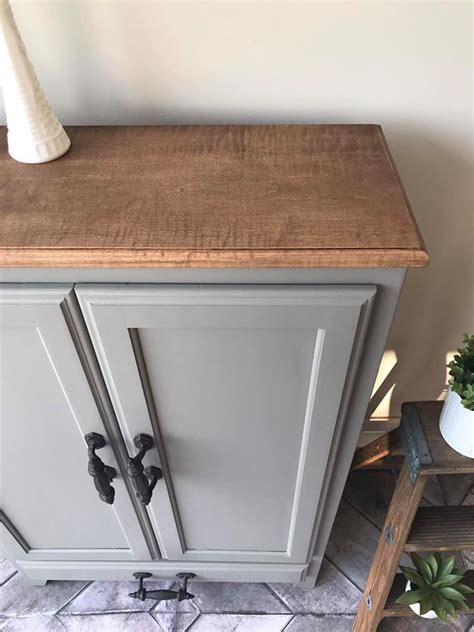 Cabinet in Custom Color of Driftwood & Millstone   General