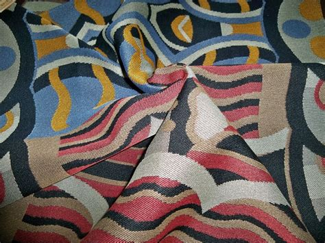 abstract upholstery fabric designer abstract art deco upholstery fabric multi blue