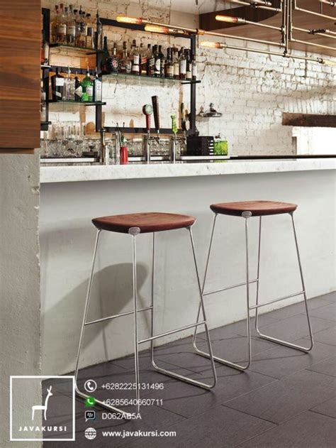 Kursi Bar Stool Besi stool kursi bar kaki besi industrial jual furniture