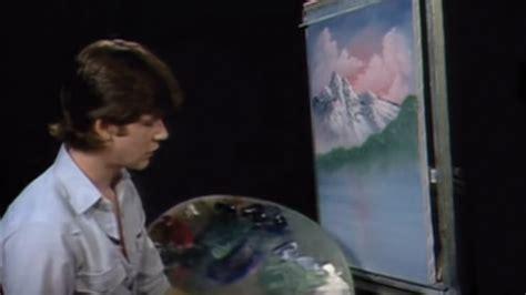 bob ross knife painting episode bob ross lake by mountain season 7 episode 9 diy fyi