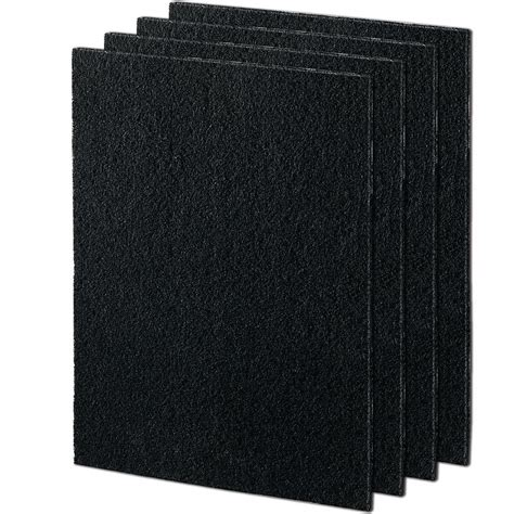 fellowes aeramax carbon filter for 190 200 dx55 air purifiers 4 pack 9324101 the home depot