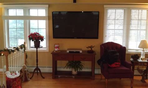tv in living room newington ct mount tv on wall home theater installation