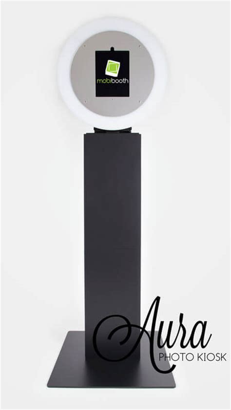 ring light for sale mobibooth 174 aura 9 photo booth kiosk for sale gif booth
