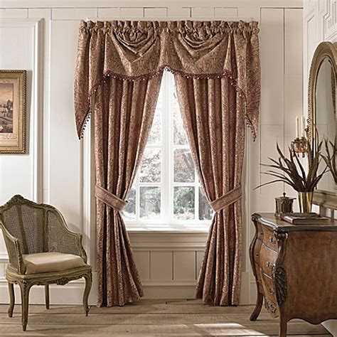 croscill drapes croscill 174 faberge window treatments bed bath beyond