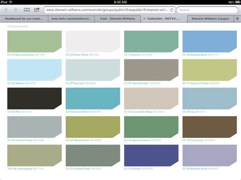 sherwin williams coastal colors ideas for house
