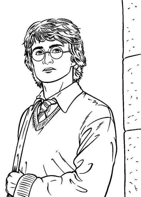 harry potter coloring book pictures free coloring pages of harry potter quidditch