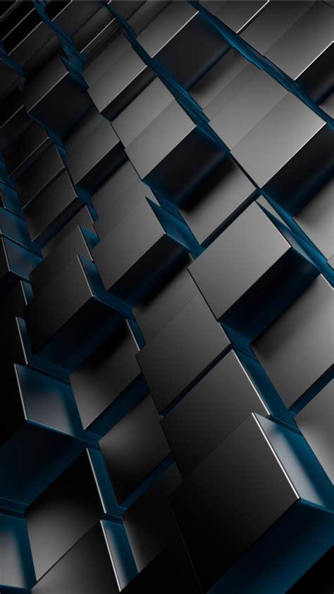 Cubung Platina 3d metal cubes wallpapers 480x854 90724