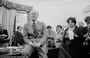 Gerald Ford Election Helen Member Of White House Press