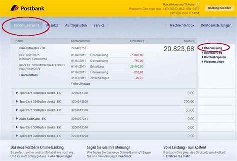 sofort bank login postbank giro plus erfahrungen testbericht f 252 r girokonten