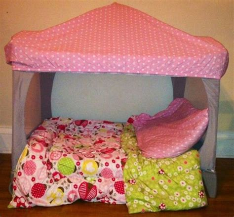Pac And Play Mattress by Pac N Play Repurposed The Table