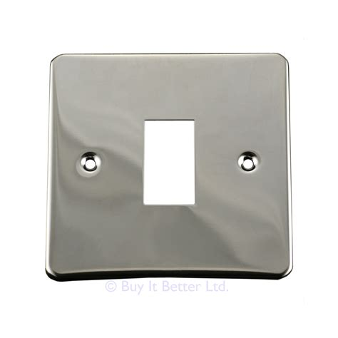 chrome light switch covers light switch cover plate conversion single