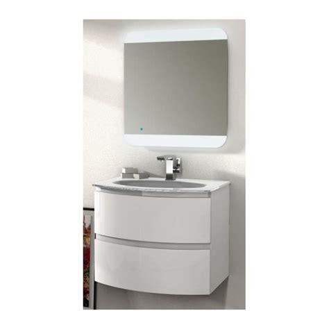 mobile bagno 70 cm baden haus mobile da bagno sospeso 70 cm vague bianco