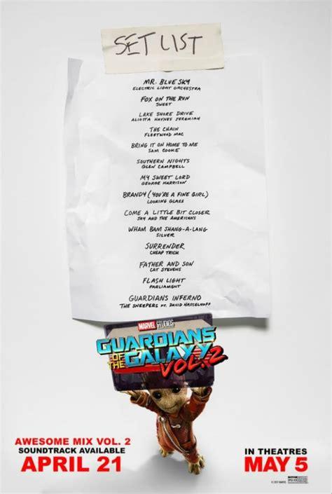 soundtrack list marvel s guardians of the galaxy gets a new soundtrack set
