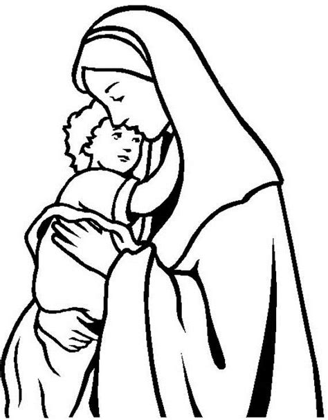 printable coloring pages virgin mary the assumption of blessed virgin mary glorious mysteries