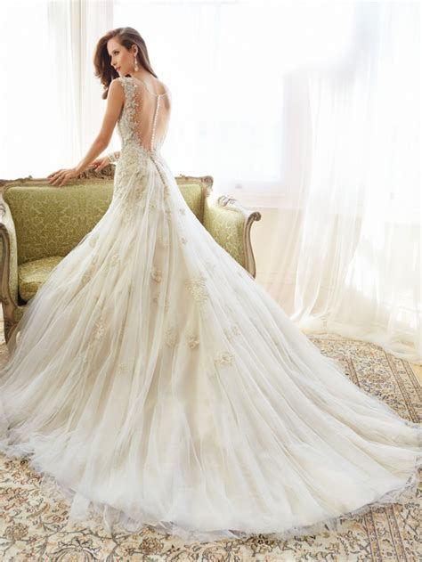 fascinating wedding gowns by sophia tolli spring 2015