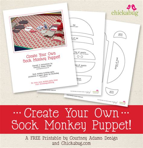 sock monkey template 14 sock template printable images dr seuss fox in socks
