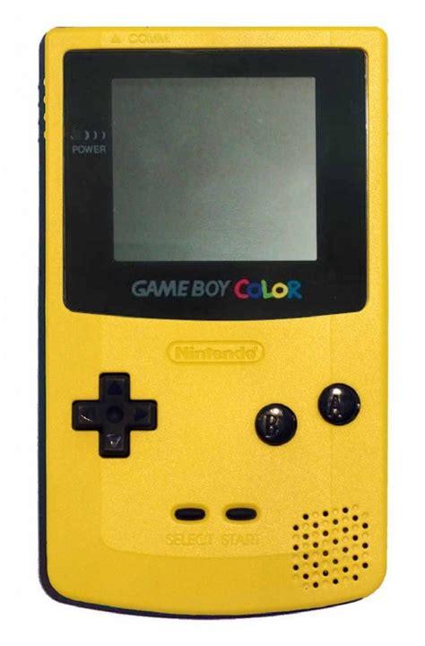 buy boy color console dandelion yellow cgb 001