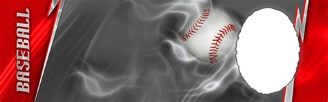 Baseball Photo Templates Baseball Banner Templates