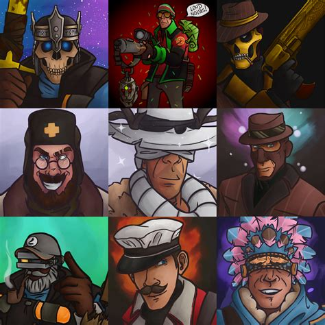 tf2 loadout commissions by shinigami apples on deviantart