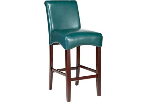 rooms to go bar stools watercolor blue counter height stool barstools blue wood