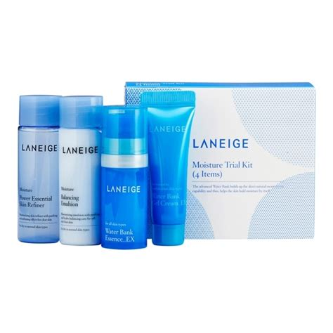 Laneige White Dew Trial Kit bộ d 249 ng thử dưỡng trắng da laneige white dew trial kit 4