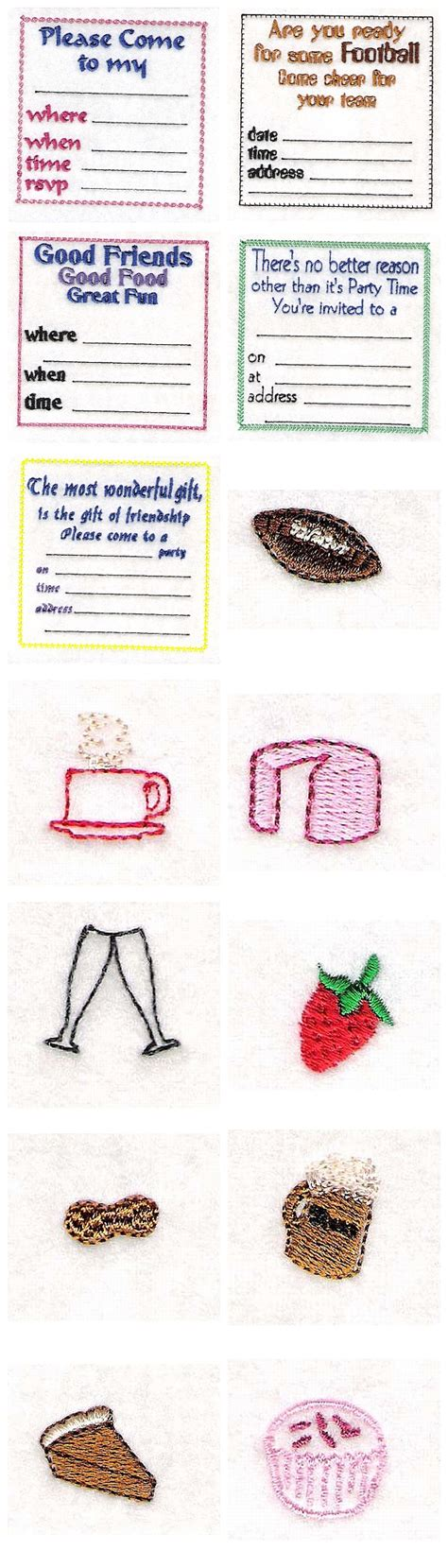 embroidery design your own embroidery machine designs make your own invitations set