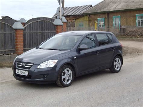 2008 Kia Ceed 2008 Kia Cee D 2 0 Crdi Related Infomation Specifications