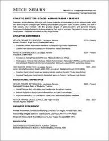 resume templates mobile