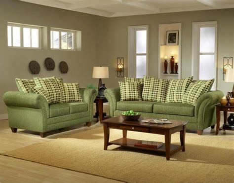 Green Living Room Furniture - 18 lovely grey and green living room ideas