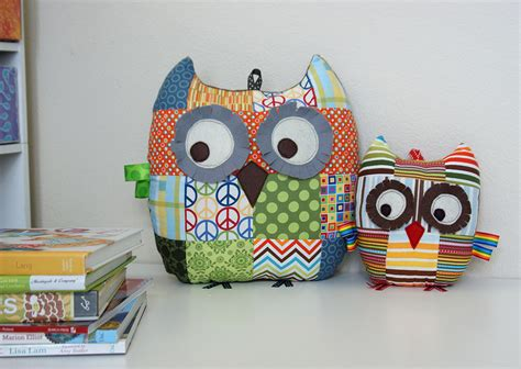 Owl Patchwork - about angie s studio