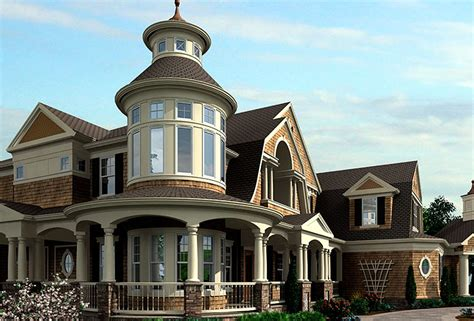 luxurious home plans luxurious shingle style home plan 23394jd