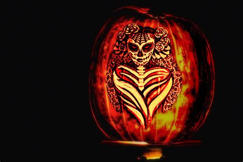 dia de los muertos pumpkin template 25 scary 2017 hd wallpapers backgrounds