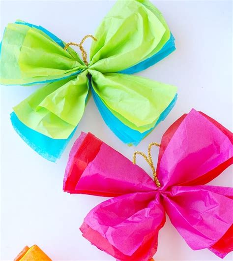 How To Make Butterflies Out Of Construction Paper - butterfly craft ideas for and adults p s i
