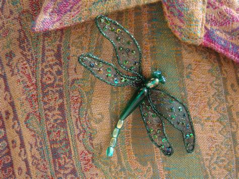 kreinik thread wire how to make a dragonfly brooch