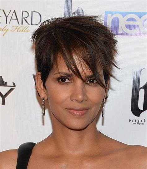 how to get halle berrys pixie cut 19 halle berry pixie cuts crazyforus