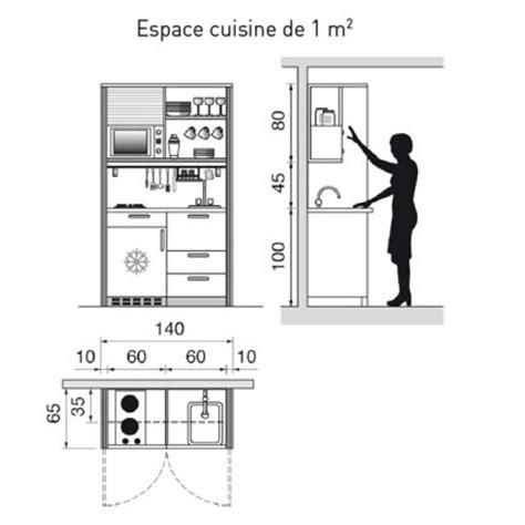 plan am駭agement cuisine plan de cuisine l am 233 nager de 1m2 224 32m2
